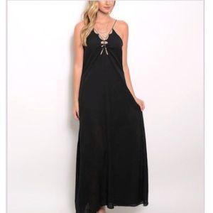 XTaren NWT black maxi dress